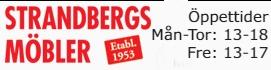 Välkomen till Strandbergs Möbler Oskarshamn
